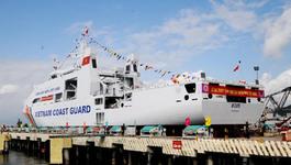 Hạ thủy tàu tàu Cảnh sát biển 8005