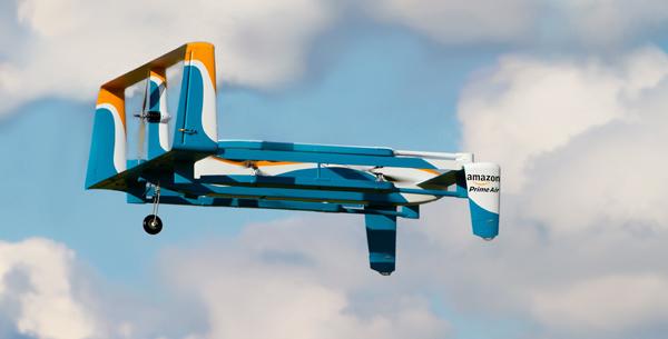 Chuyển hàng siêu tốc bằng máy bay không người lái