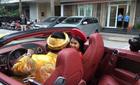 Ca nương Kiều Anh được rước dâu bằng đoàn siêu xe 30 tỷ