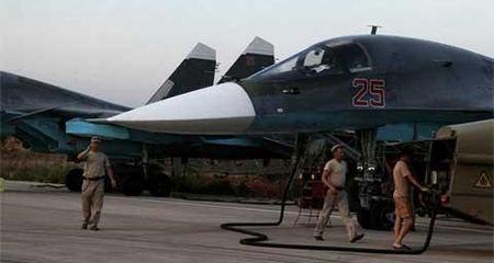 Nga đưa 'xe tăng bay' Su-34 tới Syria