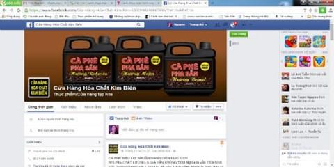 Cà phê hóa chất bán tràn lan trên mạng