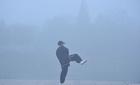 Những hình ảnh không tưởng về ô nhiễm ở Trung Quốc