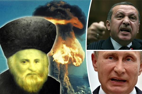Tiên đoán ớn lạnh về cuộc chiến Nga-Thổ