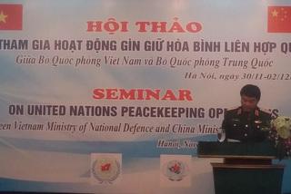Việt-Trung phối hợp gìn giữ hòa bình tại LHQ
