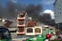 Đang cháy lớn ở khu trung tâm Sài Gòn