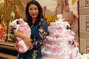 Bánh mừng đầy tháng cực độc của con gái Hà Kiều Anh