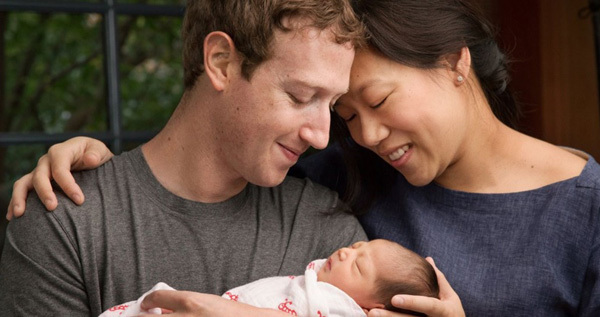 Ông chủ Facebook, con gái Mark
