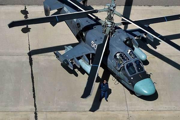 'Cá sấu' Kamov Ka-52 của Nga đã có mặt tại Syria