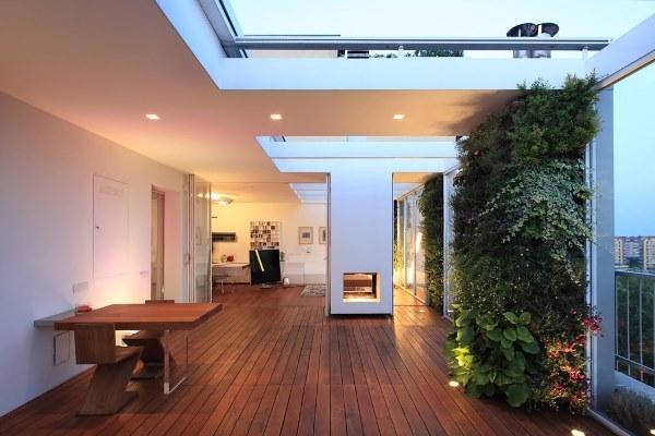 Mãn nhãn với căn hộ có khu vườn thẳng đứng đẹp và xanh từ mọi góc nhìn