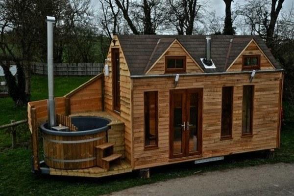 Ngôi nhà nhỏ 20m² nhưng đầy đủ tiện nghi của gia đình 4 người