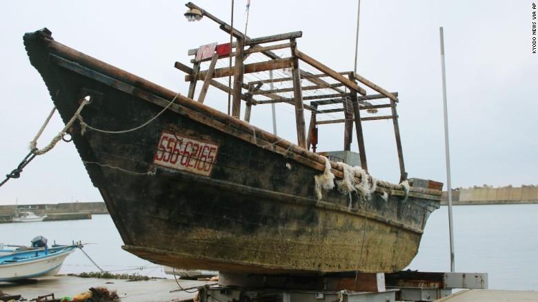 Bí ẩn, tàu ma, xác chết, thi thể, phát hiện, bao trùm, bờ biển, Nhật Bản, giải mã, Triều Tiên, CHDCND Triều Tiên, đào tẩu, tàu cá, lạc đường