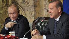 Erdogan từng được Putin ngợi khen hết lời