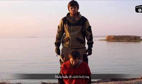 IS 'ra mắt' đao phủ mới, nói tiếng Nga như gió