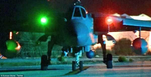 Chiến đấu cơ Anh ồ ạt xuất kích vào Syria