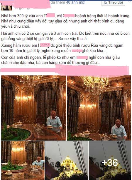 Nghiệp kinh doanh triệu đô của ông chủ lâu đài gà vàng Hà Nội