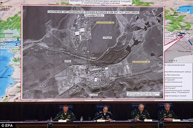 Xem bằng chứng Thổ Nhĩ Kỳ buôn dầu với IS