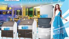 Máy làm đá viên sạch Hải Âu: Công nghệ 5 trong 1