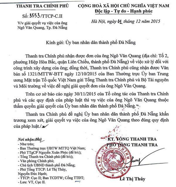 Bí thư Xuân Anh yêu cầu xử lý sớm biệt phủ trên núi Hải Vân