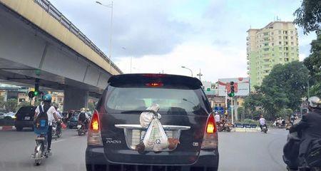 Ôtô biển số 'con gà', 'con vịt' náo loạn Hà Thành