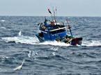 Chìm tàu, 4 ngư dân mất tích trên biển