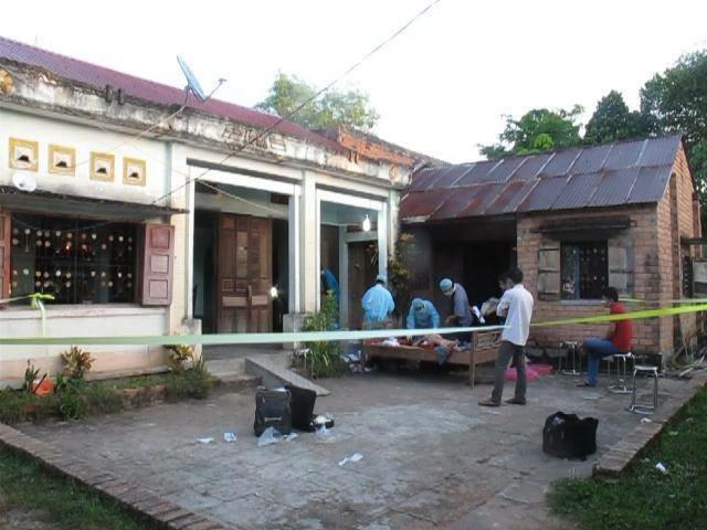 án mạng, Bình Thuận, giết mẹ