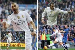 Highlights La Liga: Real Madrid 4-1 Getafe