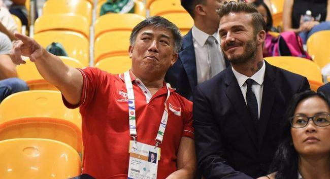 David Beckham lịch lãm xuất hiện tại Asian ParaGames 2015