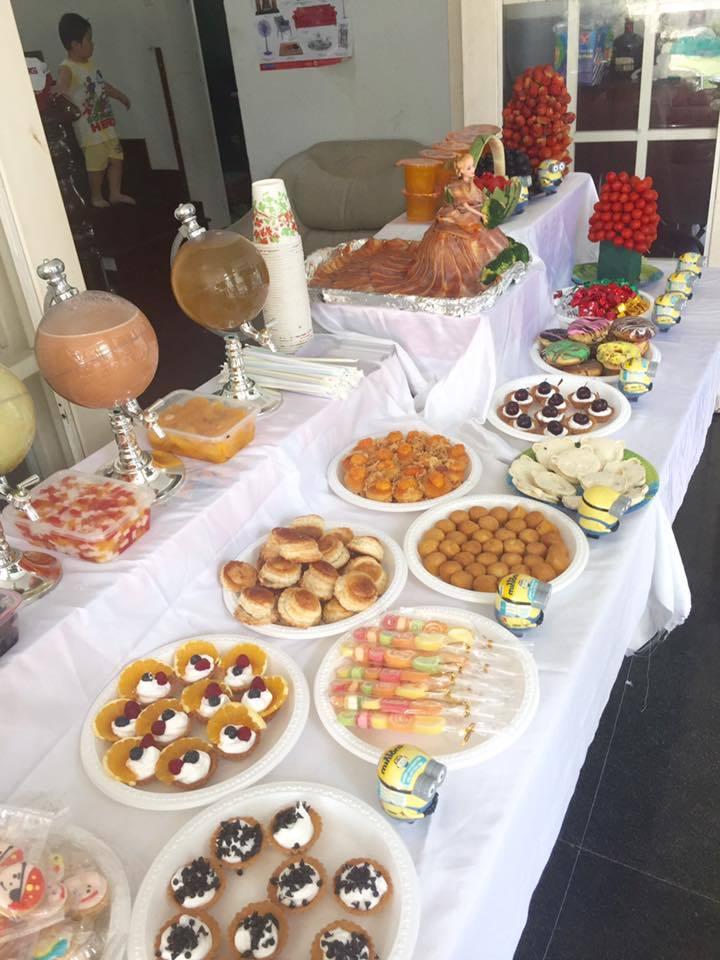 tiệc sinh nhật, kinh nghiệm nấu ăn, nấu nướng, trang trí