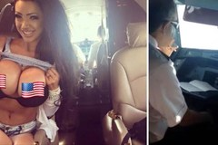 Phạt nặng phi công 'tiệc tùng' cùng sao khiêu dâm trong buồng lái