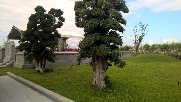 lăng mộ ông Nguyễn Bá Thanh, nhà tưởng niệm ông Nguyễn Bá Thanh, Đà Nẵng, Nguyễn Bá Thanh