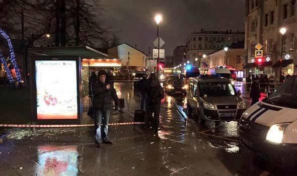 Nổ, bến xe buýt, Nga, hiện trường, điều tra, cảnh sát, Moscow, bị thương, bệnh viện