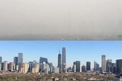 Bắc Kinh tê liệt vì quá bụi