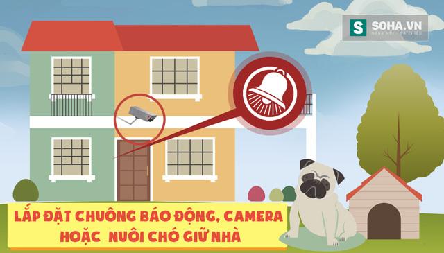Cách phòng tránh và đối mặt khi có trộm vào nhà