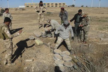 Rùng mình bẫy săn người IS rải ở Iraq