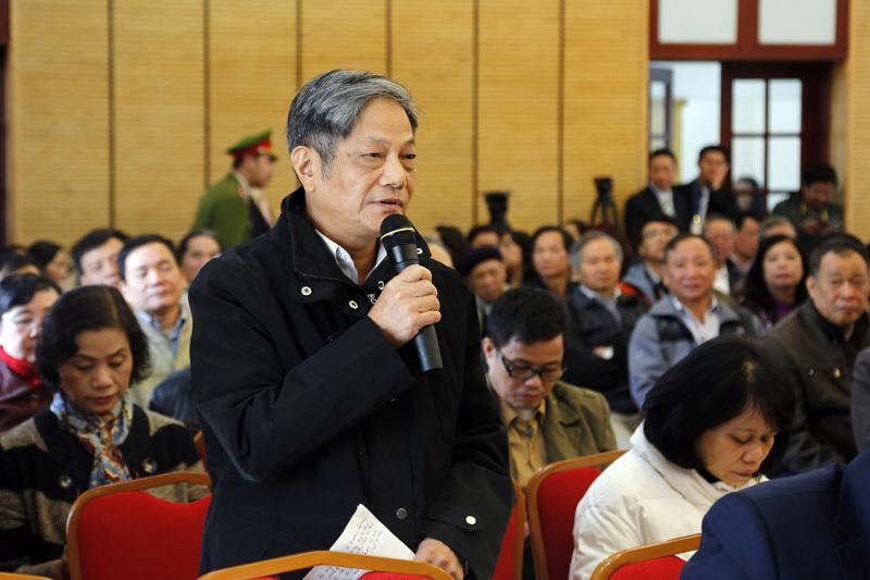 Tổng bí thư Nguyễn Phú Trọng, tiếp xúc cử tri, nhân sự ĐH Đảng, tham nhũng, đại hội Đảng 12