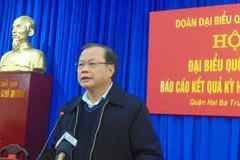 Ông Phạm Quang Nghị: Không biết chừng ai đó nhận phong bao