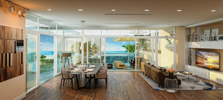Phí thấp, lãi cao, căn hộ nghỉ dưỡng đắt khách