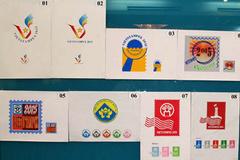 Trưng bày hàng ngàn tem bưu chính tại Vietstampex 2015