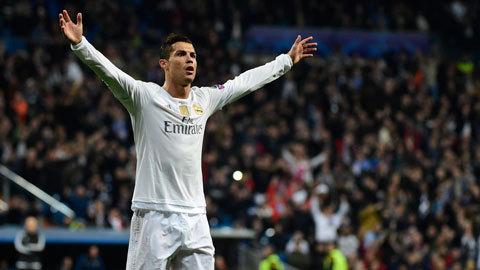 Ronaldo lập poker, Real đại thắng 8-0