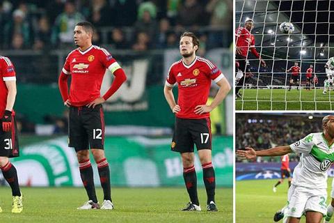 Wolfsburg 3-2 M.U