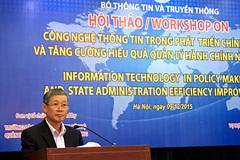 Ứng dụng CNTT sẽ minh bạch quản lý hành chính