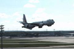 Kinh ngạc với cú hạ cánh dị thường ở sân bay Đức