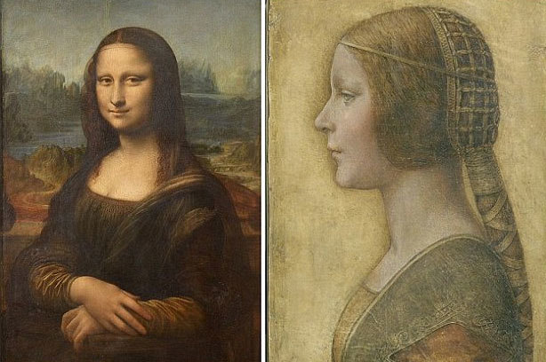 Phát hiện chân dung ẩn giấu dưới kiệt tác Mona Lisa