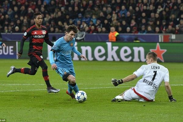 Highlights Champions League: Leverkusen 1-1 Barca