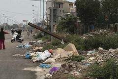 Đường nghìn tỷ thành nơi đổ rác