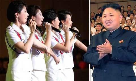 ban nhạc nữ, Jong Un, tuyển chọn, Triều Tiên, ban nhạc, nữ ca sĩ, nổi tiếng,