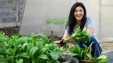 Cựu Thủ tướng Thái đẹp kiều diễm nhờ rau