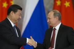 Cùng ở ngoài cuộc chơi, Nga–Trung ngày càng hữu hảo