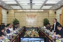 Bộ TT&TT làm việc với VTV về quy hoạch báo chí