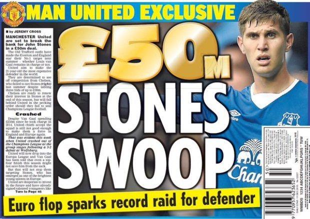 Chi tiền khủng, M.U quyết 'bắt cóc' John Stones